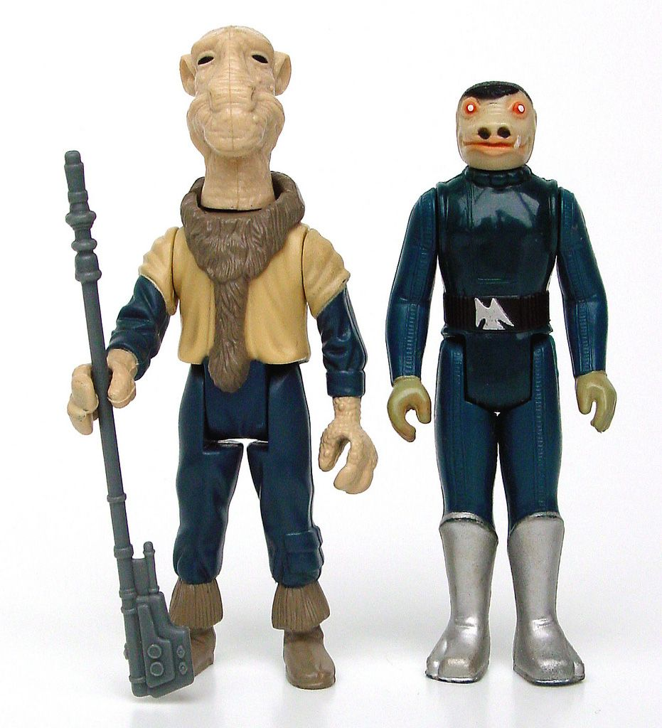 Star Wars Reproduction Blue Snaggletooth And Yak Face