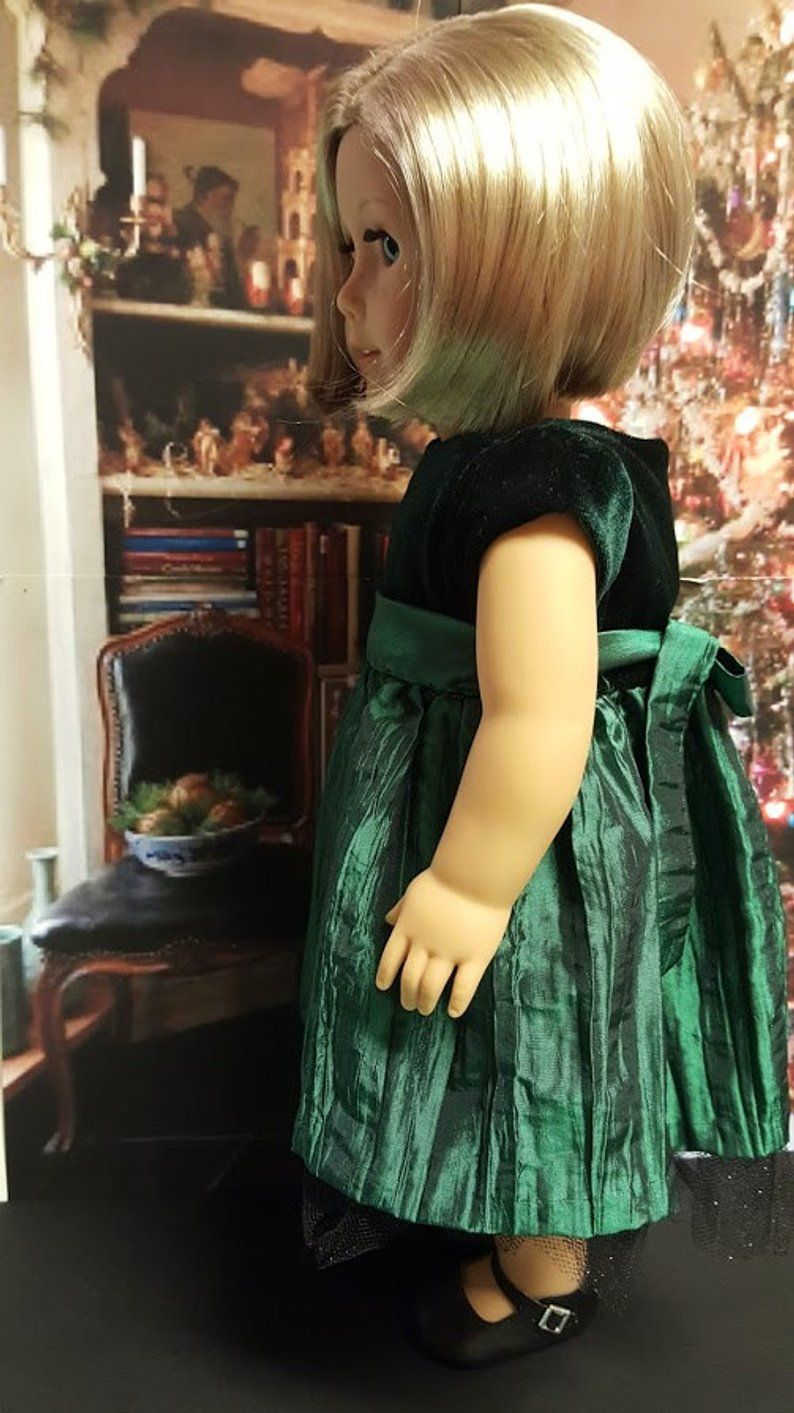 18 inch doll clothes Velvet Jade will fit American Girl® , Our Generation® , Journey Girls® A3 #historicaldollclothes