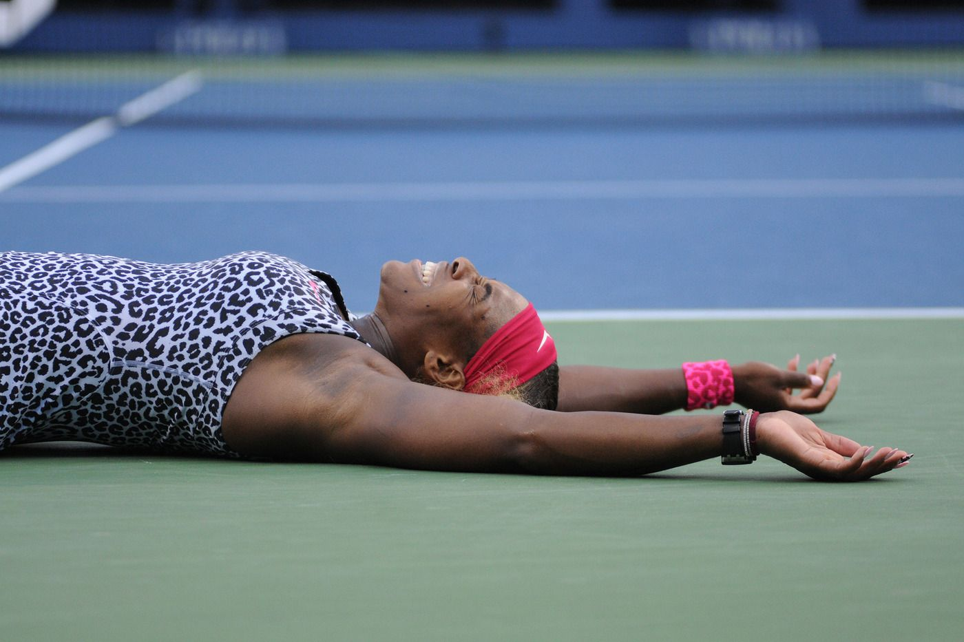 Serena takes it all: 2-Time U.S. Open Defending Champion Serena Williams takes down tenth seed Caroline Wozniacki in straight sets to win the Women's Final 6-3, 6-3 for her 6th US Open Crown. 9/7/14