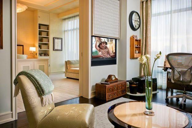 Decorative Wall Panel Designs, Screens And Hanging Doors To Hide TVs. Hide  TvFormal Living RoomsLiving ...