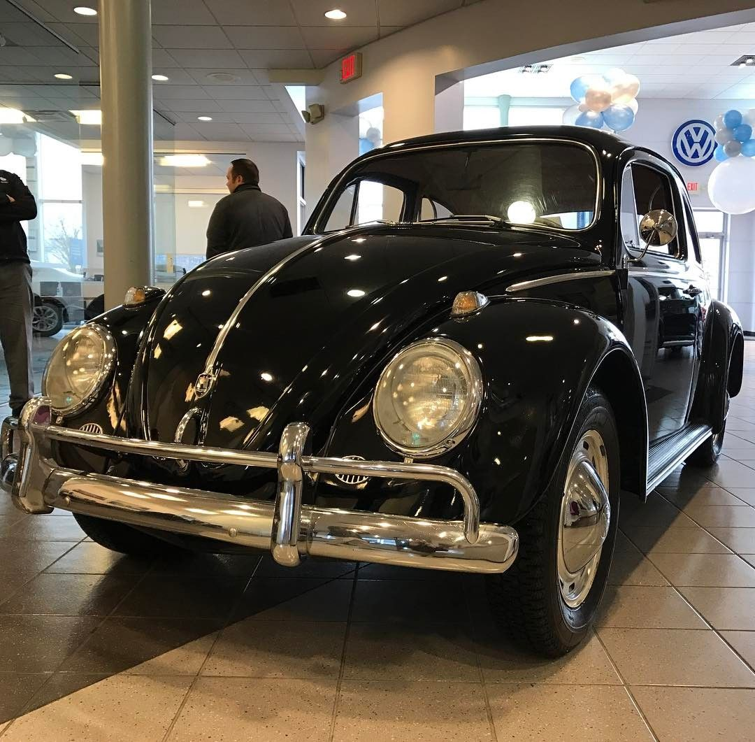 Check out this awesome 1961 Volkswagen Beetle that rolled into our showroom today!