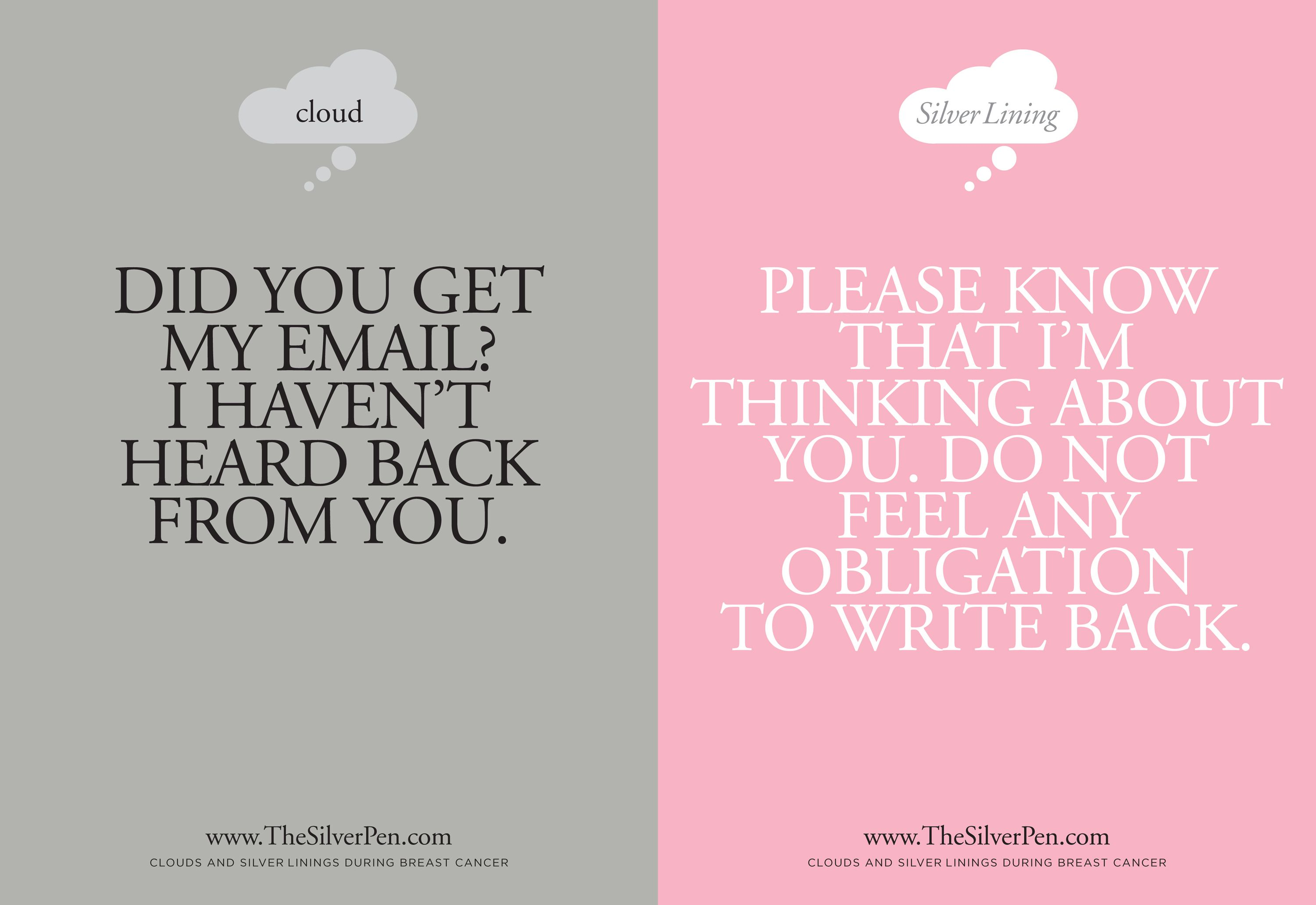 Breast Cancer Inspirational Quotes What And What Not To Saybreastcancer Silverlining Some People
