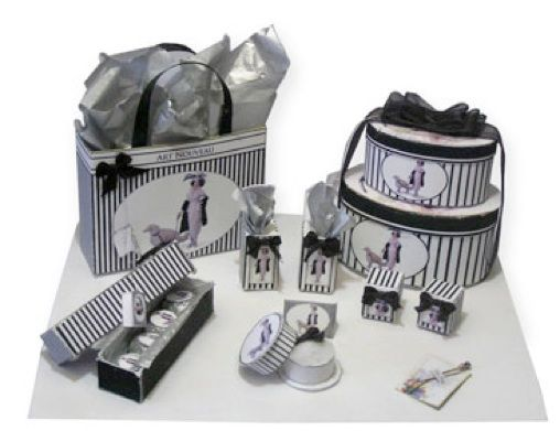Dollhouse Kits 1-12th Scale DIY Ladies Accessory Kits