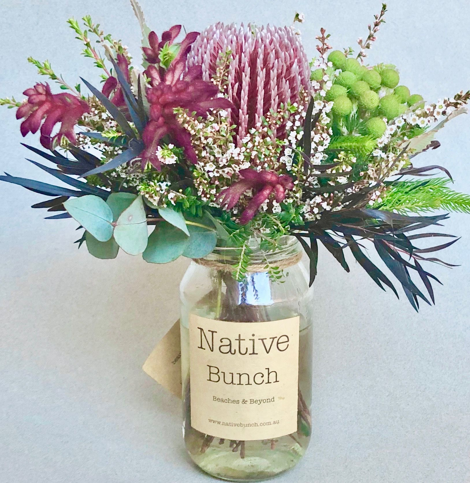 Native Flower Posy By Native Bunch In 2020 Flower Delivery Australian Native Flowers Flowers