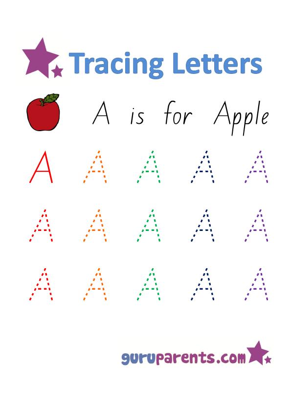 Free Handwriting Preschool Level Worksheets
