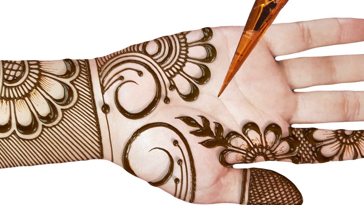 Easy Simple Mehndi Design for Front Hand – Latest stylish Arabic Mehndi Designs 2020