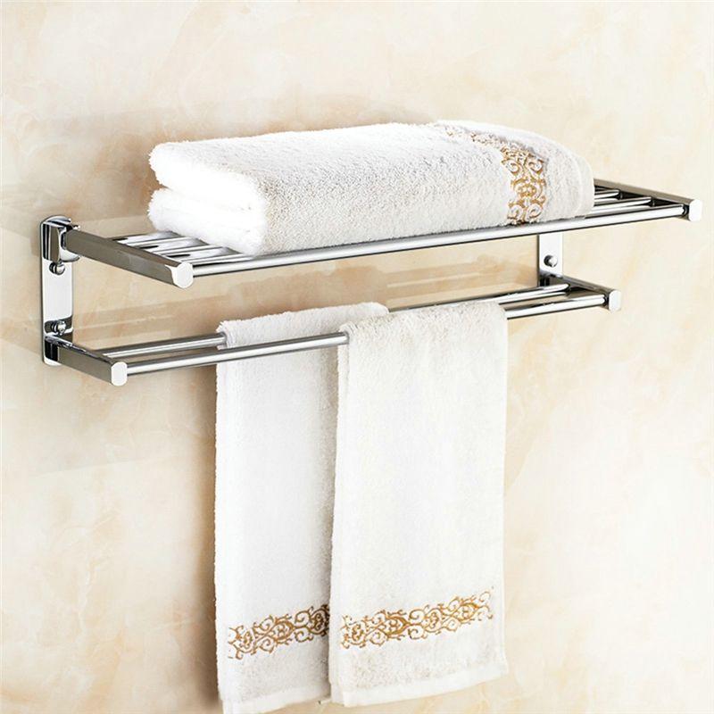 Copper Towel Rack For Bathroom Chrome Plating Craft European Style Bathroom Towel Bar Towel Rack Towel Rack Bathroom Bathroom Towel Bar