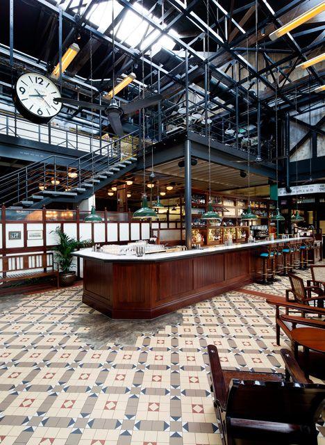 Dishoom restaurant brings bombay dining to london