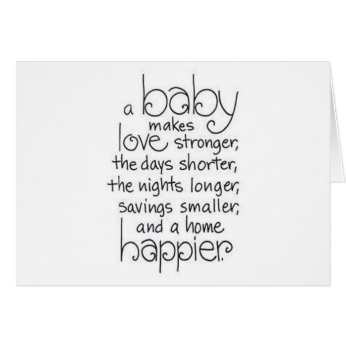 Triplets Triple The Joys Of Parenthood Card Zazzle Com Funny Baby Quotes Baby Quotes Sleeping Baby Quotes
