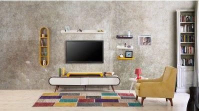 tv uniteleri duvar unitesi modelleri mobilya ev dekoru duvar uniteleri