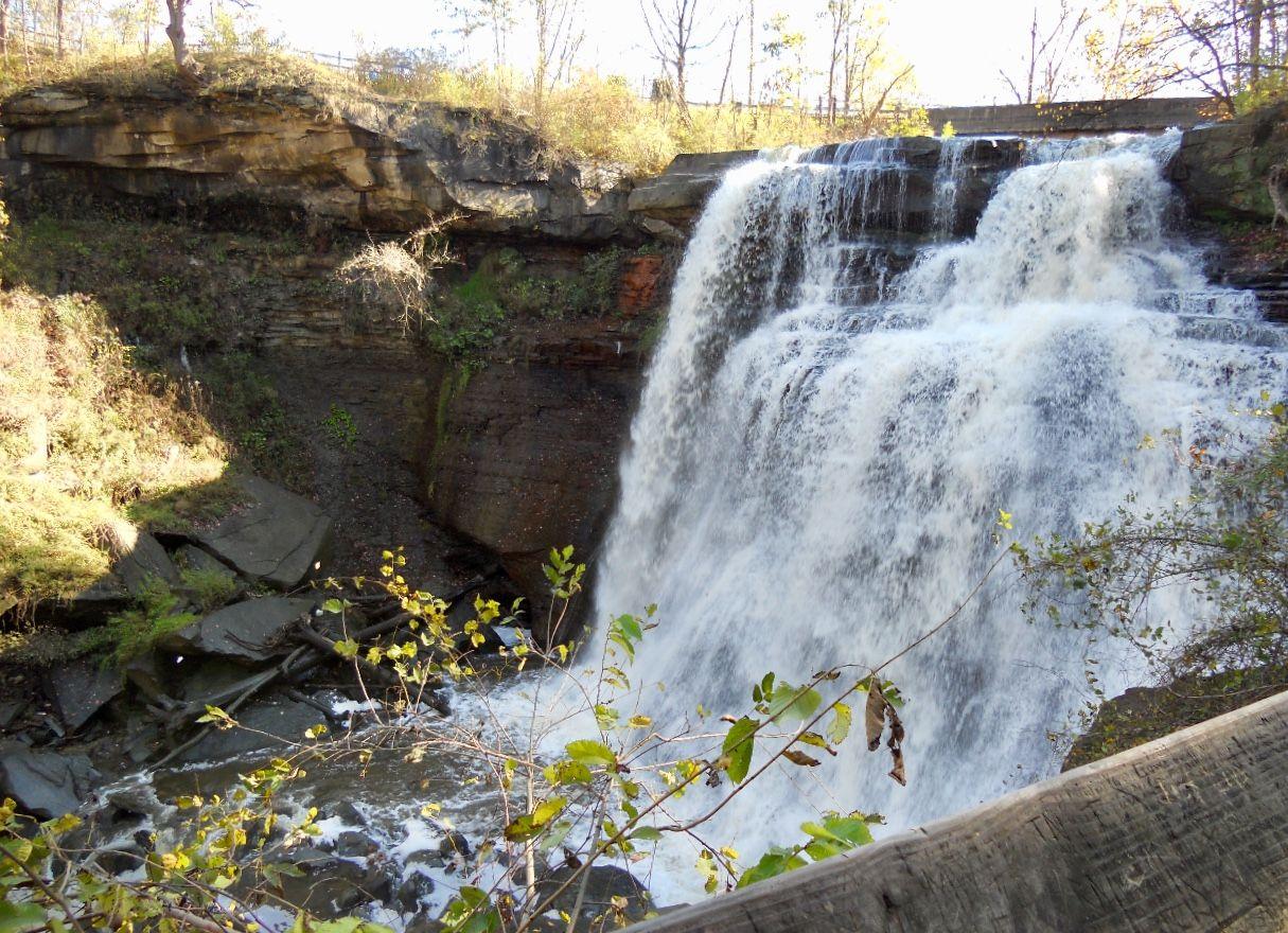 Brandywine Falls Cuyahoga Valley National Park Sagamore Hills Ohio Cuyahoga Valley National Park Brandywine Falls Cuyahoga Valley