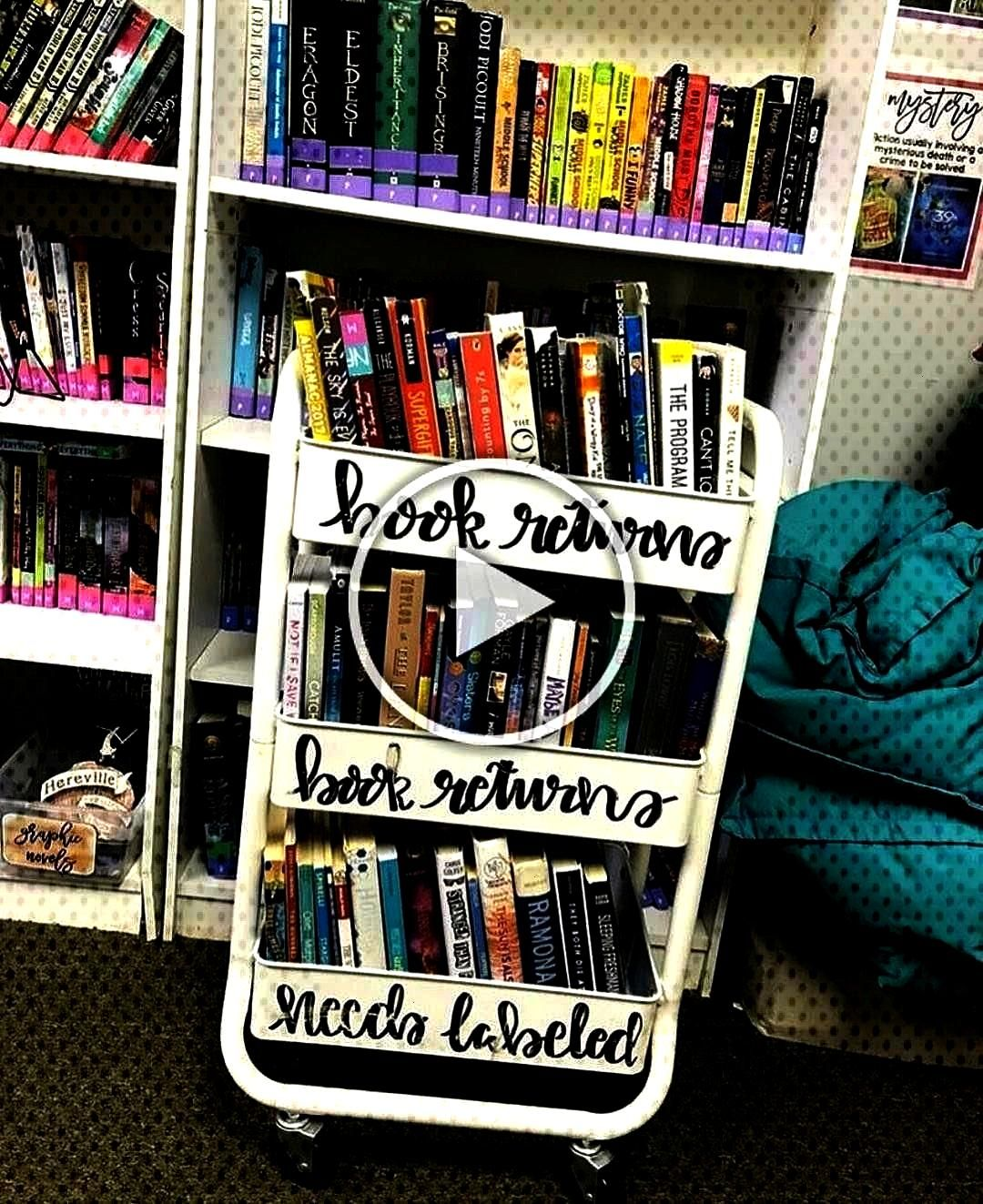 """""""Let's talk about classroom libraries... All of my books are organized on the shelves by genre,"""