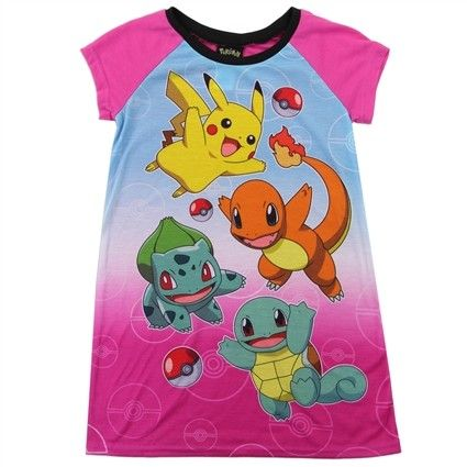 09522053 Pokemon Sleep, Nintendo Pokemon, Pokemon Fan, Girls Sleepwear, Girls 4,  Little