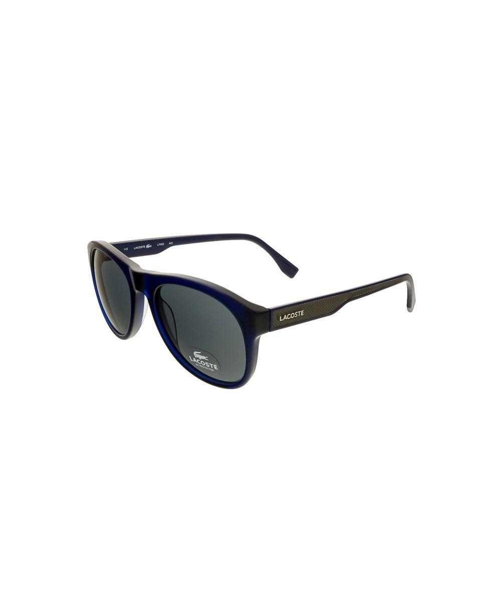 2d805f34385 LACOSTE L746S 424 Blue Round Sunglasses .  lacoste  sunglasses Lacoste Men