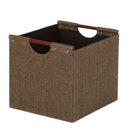 73375666e4012c454b105301c65ab039 - Better Homes And Gardens Woven Storage Bin Brown Durable Construction