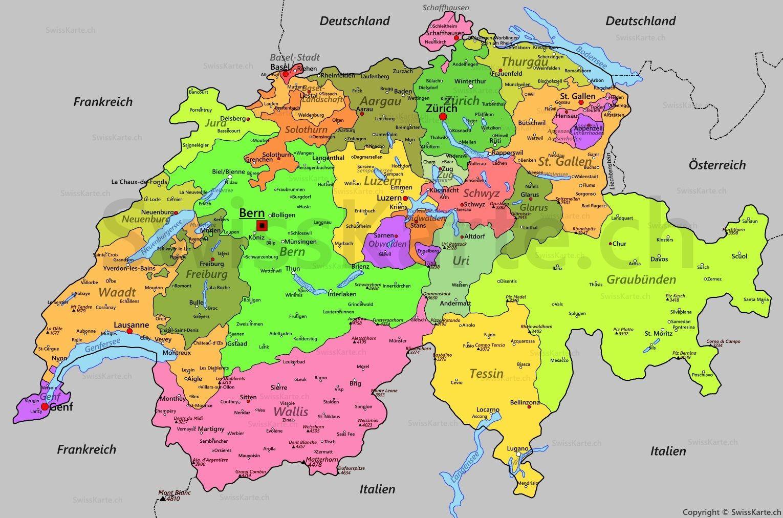 Karte Der Schweiz Jpg 1 39 530 1 39 012 Pixel Karte Schweiz