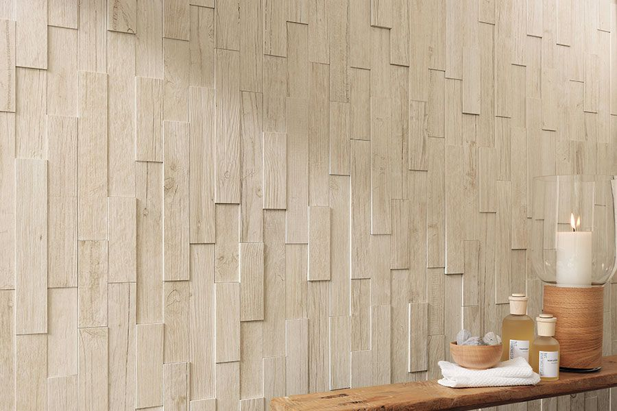 Axi By Atlas Concorde Three Dimensional Porcelain Tiles That Look Like Recycled Wood Slats