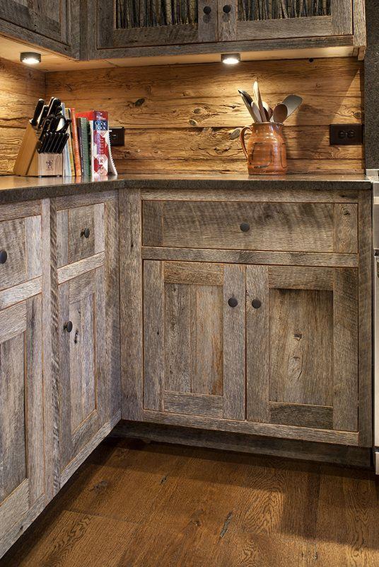 Gallery Barnwood Cabinet Company Barn Wood Cabinets Rustic
