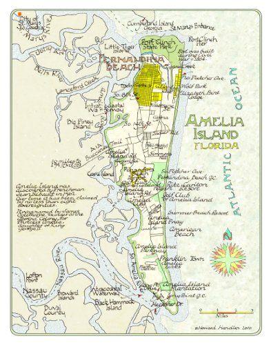 Cocoa Beach Florida Map.Amelia Island Map Guest Room Bathroom Florida Amelia Island