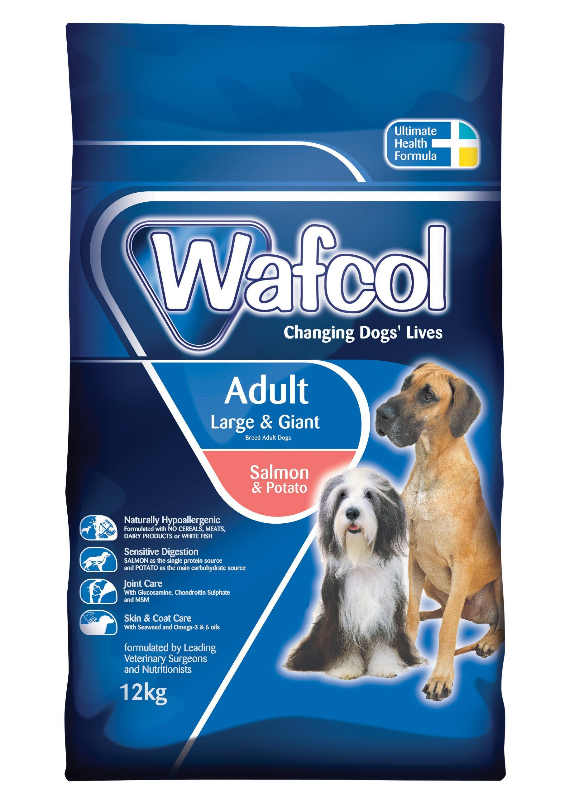Wafcol Salmon And Potato Dry Food For Adult Large Giant Dog 12 Kg Find Out More About The Great Product At The Image Link It Is An Affiliat Dog Food Comparison Dog