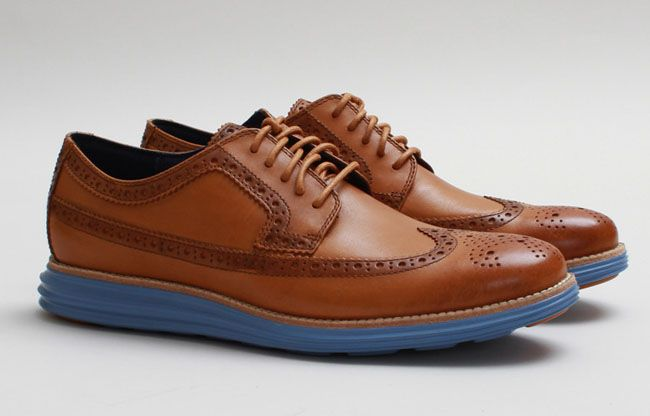 e1b70ef9dfa Nike x Cole Haan - Cole Haan LunarGrand Long Wingtip 'Camello.' Have Your  Cake and Eat it Too