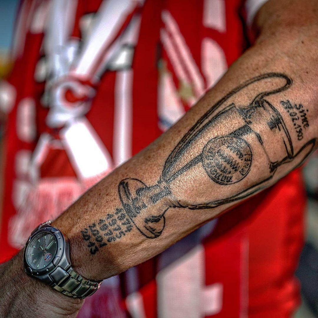 Tattoo Ärmel Spanien Fussball WM EM Tatoo Sleeve Fanartikel FIFA