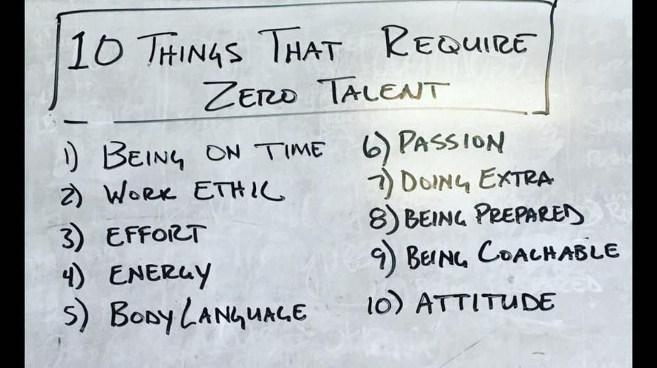 10 Things That Require Zero Talent Motivational Quotes For