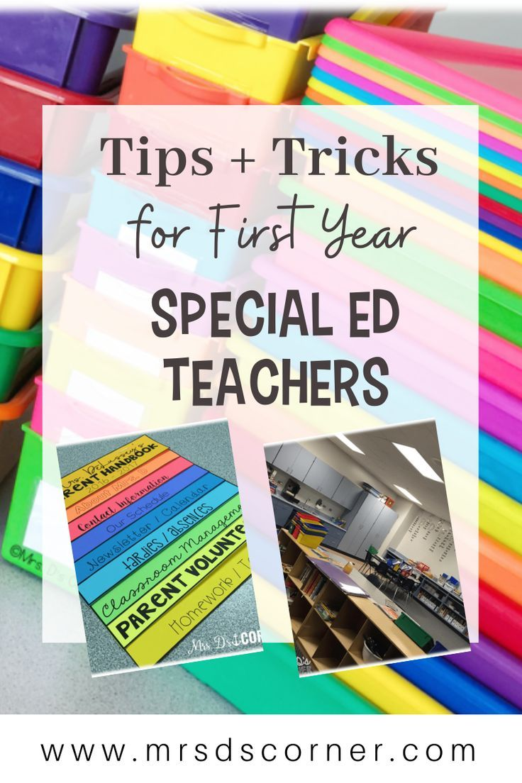 First Year Teacher Tips for Special Ed Teachers - Mrs. D's Corner