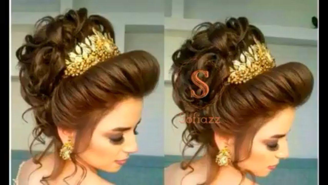 Easy Bridal Bun Hairstyle Tutorial Step By Step Bridal Hairstyle Tutorials Hair Tutorial Bridal Hair Buns Hair Bun Tutorial