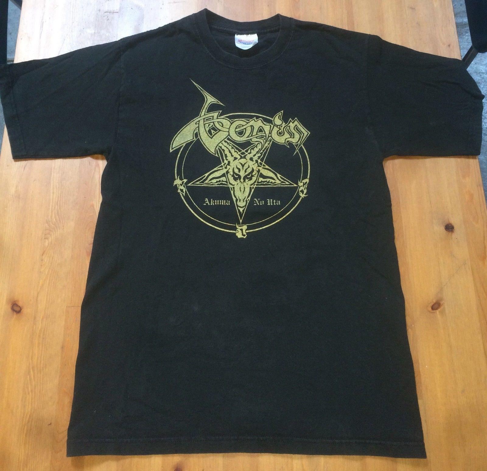 4ac235da Boris original akuma no uta band t-shirt venom logo black s   Boris ...