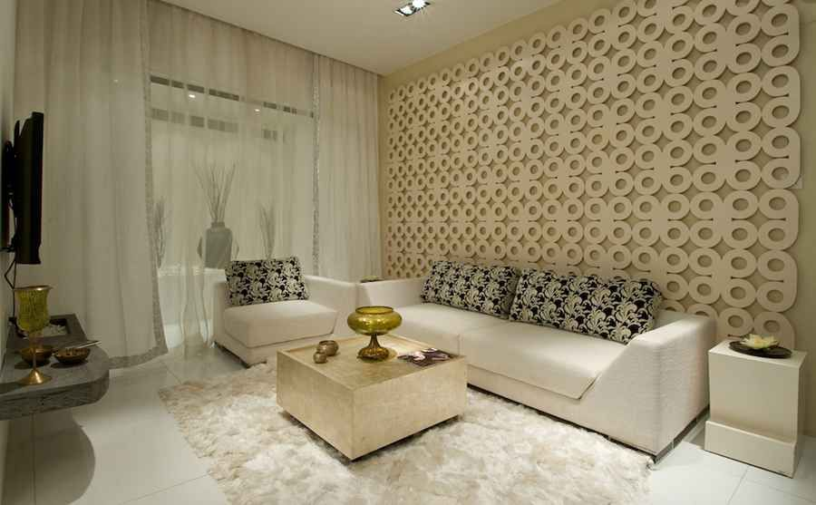 Living Room Furniture Mumbai the elegant mdf jali forms a focal point in the living room