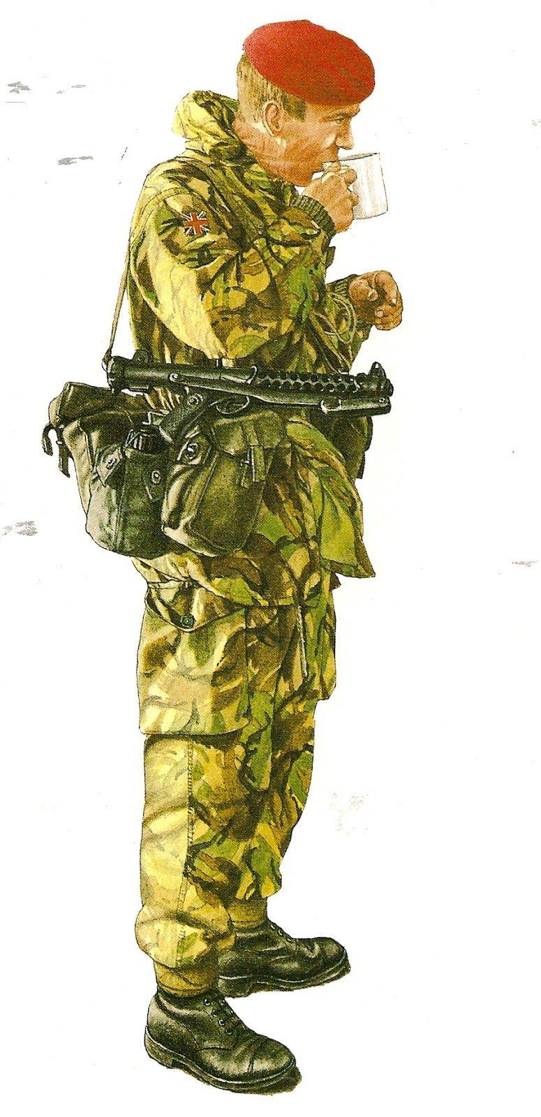 UNITED KINGDOM Sergeant Major parachute regiment