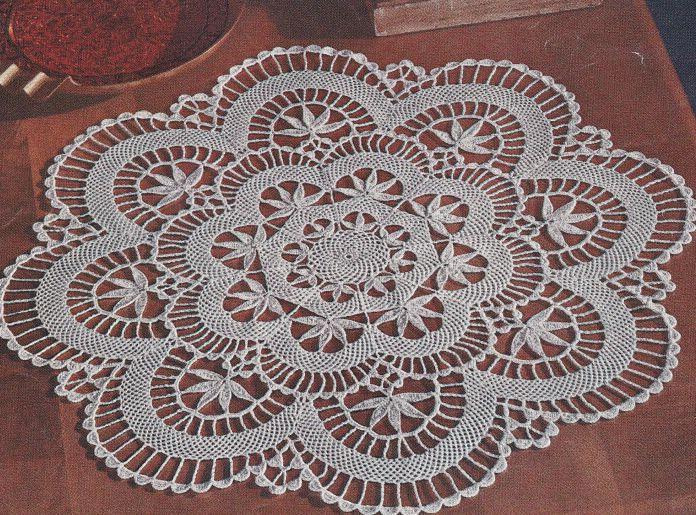 Free Crochet Doily Patterns Vintage Horgolt Tertk Pinterest