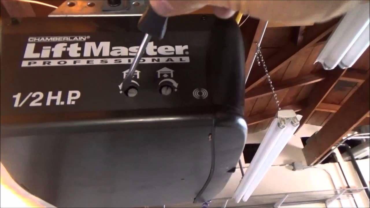 How To Adjust Garage Door Opener Sn Desigz Garage Doors