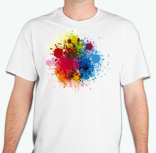 Paint Splatter - CUSTOM T-SHIRTS   Pinterest - Verf, Producten en Verf  spetters