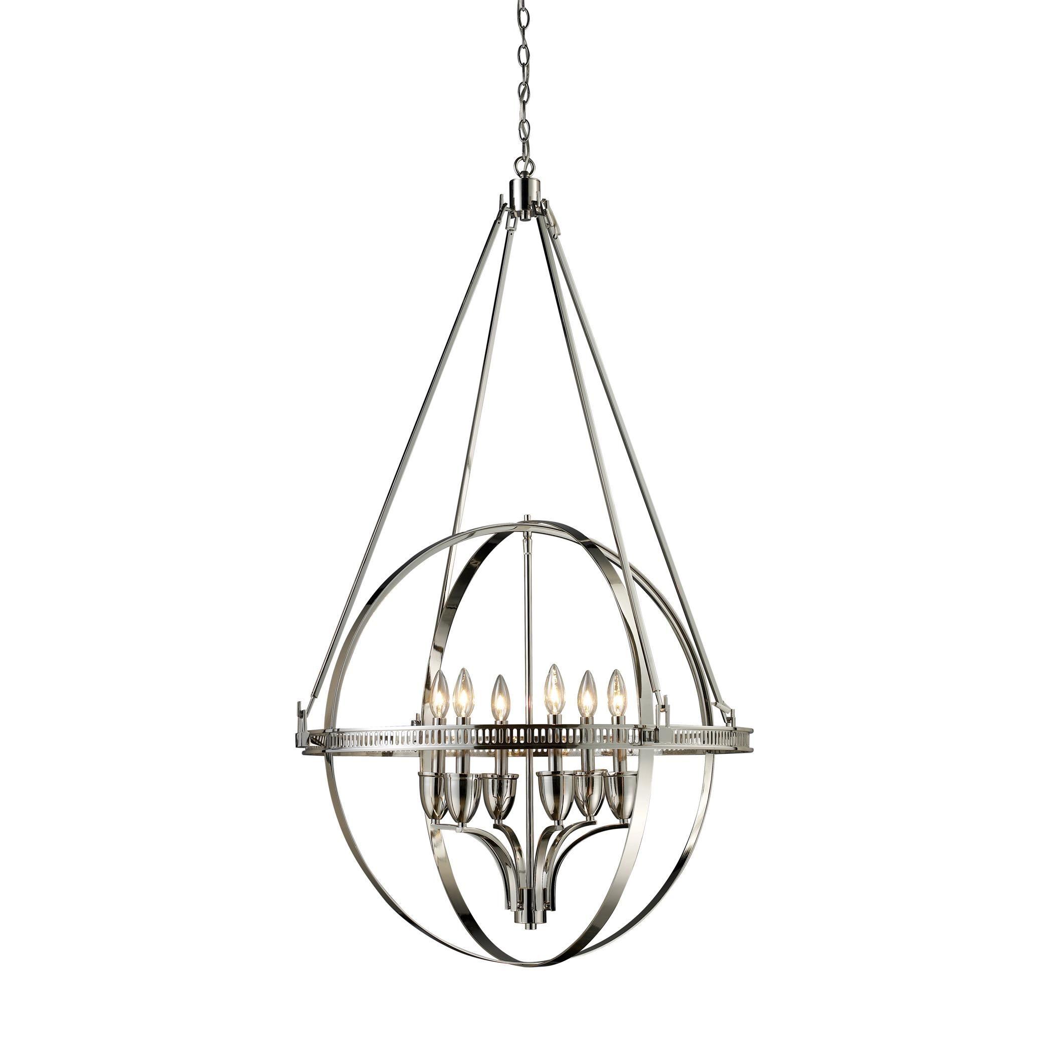 buy the elk lighting 10193  6 large chandeliers at