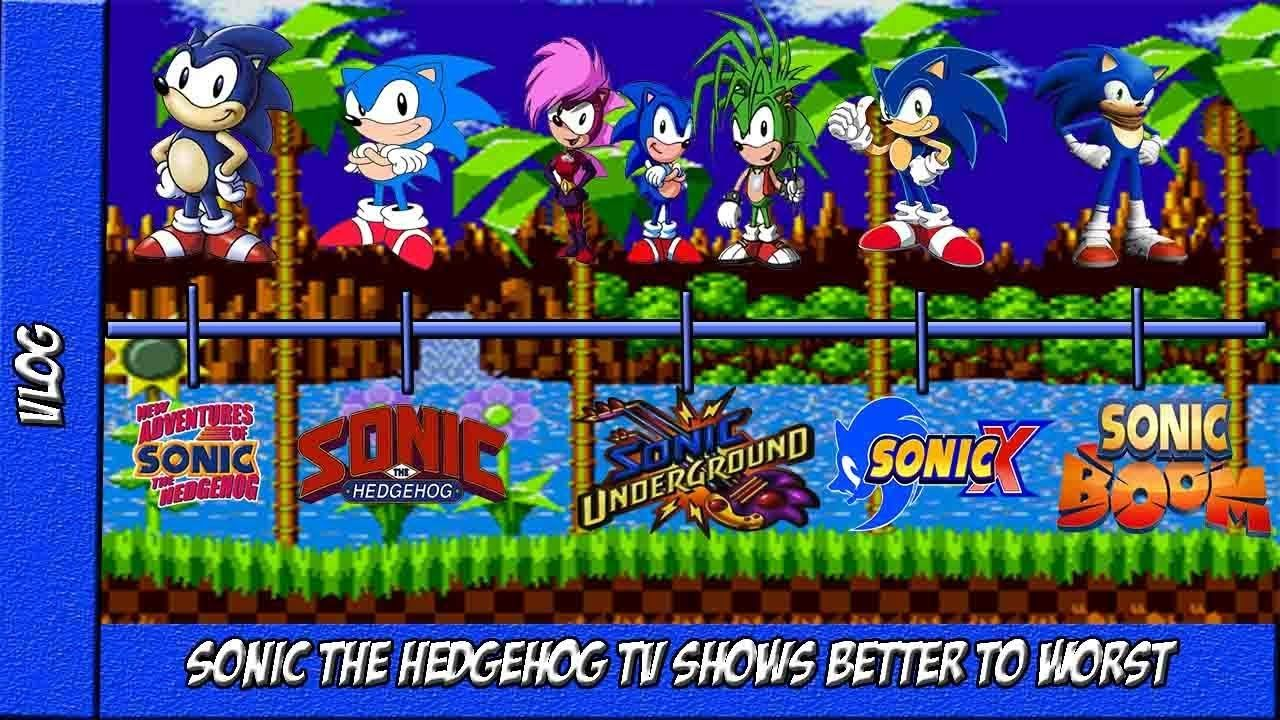 Sonic The Hedgehog Tv Shows Better To Worst Sonicthehedgehog Sonic Sonicboom Videos Cartoon Animation Youtubers Y Sonic The Hedgehog Sonic Boom Sonic