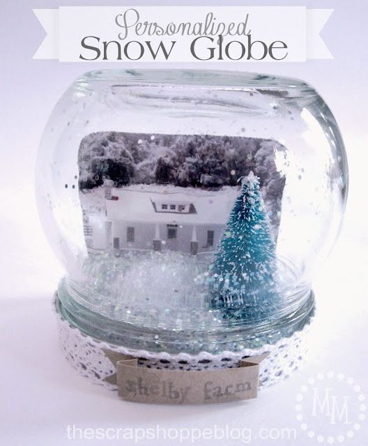 Best of Personalized Snow Globes With Picture