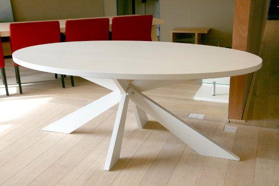 Witte tafel ovaal new home eettafel keukens en