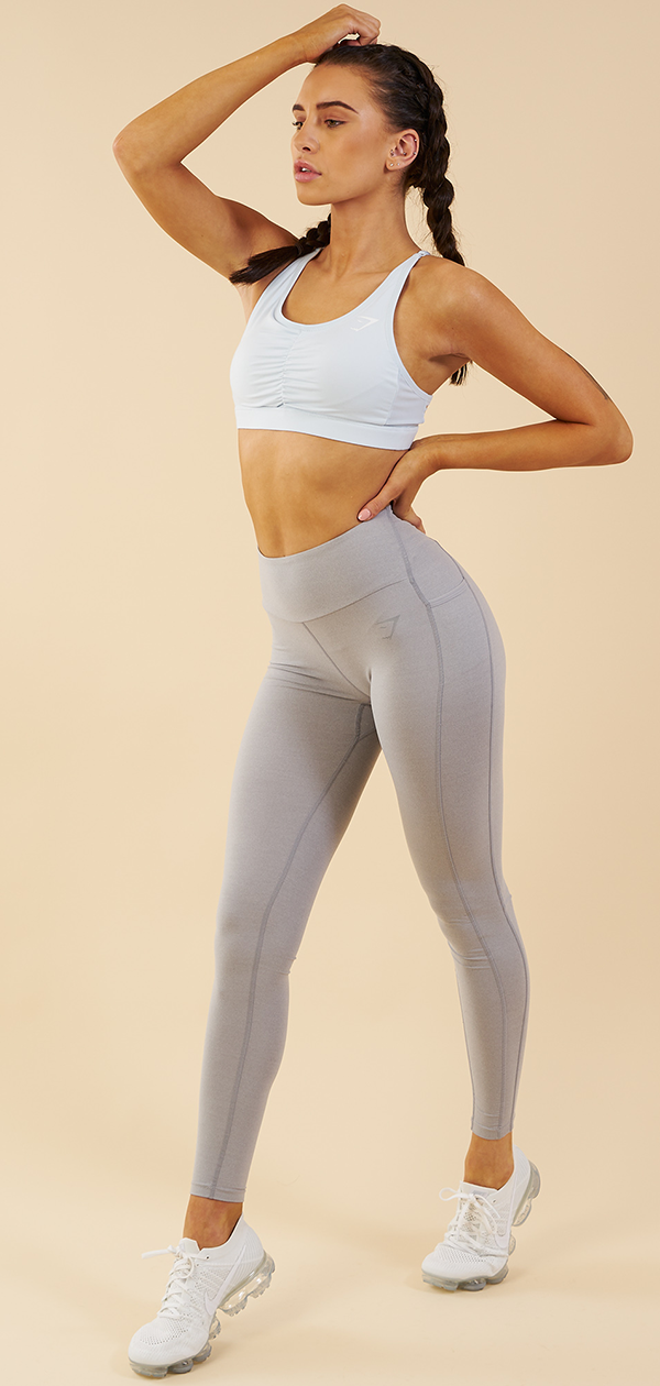 44fe1788b4 Feel at Ease in the new Ice Blue Sports Bra