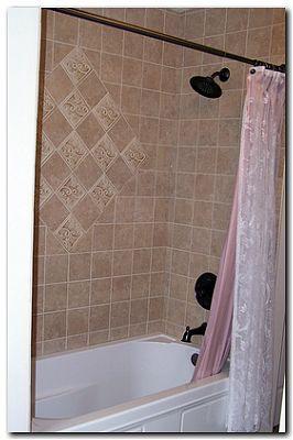 bath remodel tub wall tile or acrylic surround fee - home