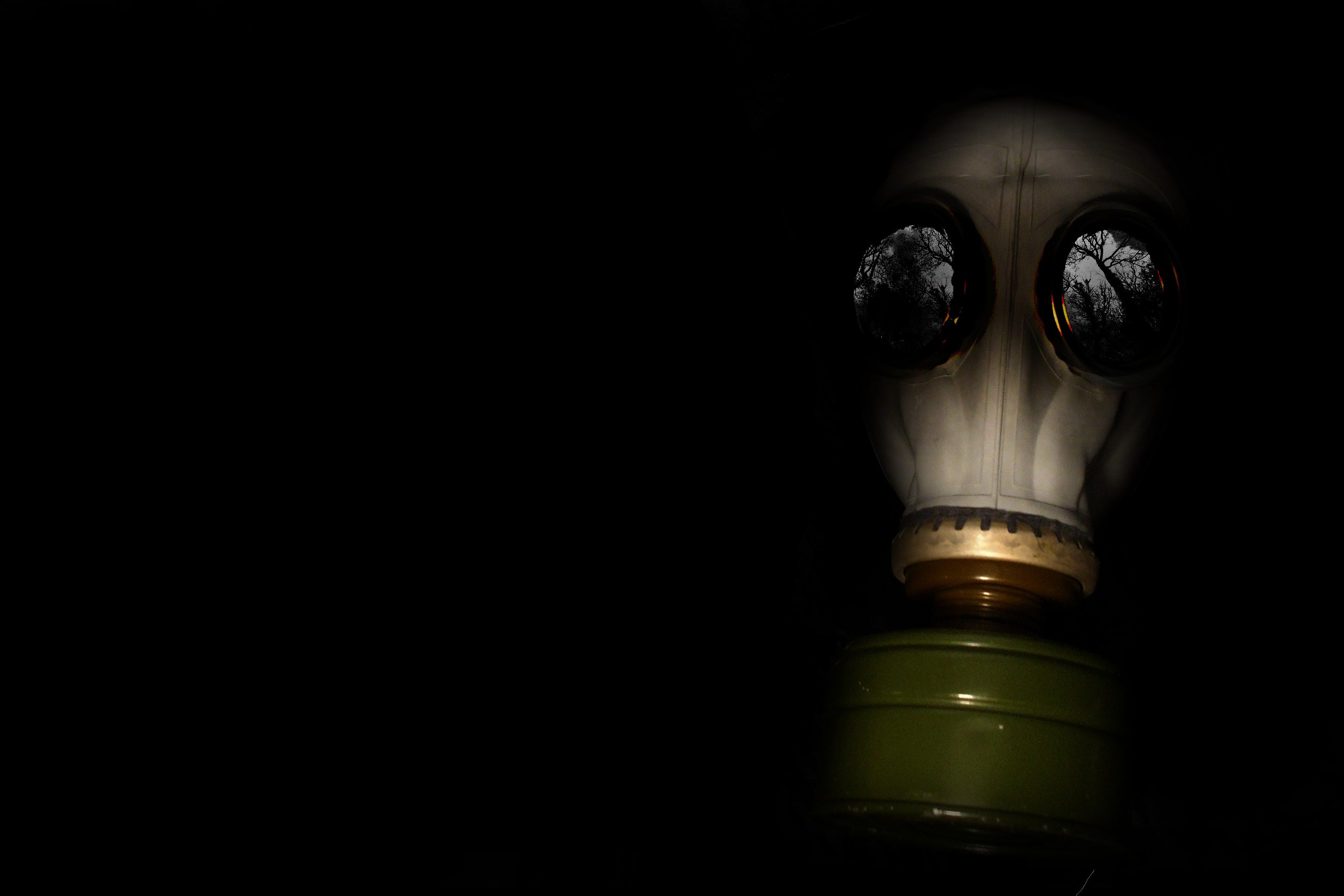 25 Gas Mask Wallpapers Gas Mask Backgrounds American