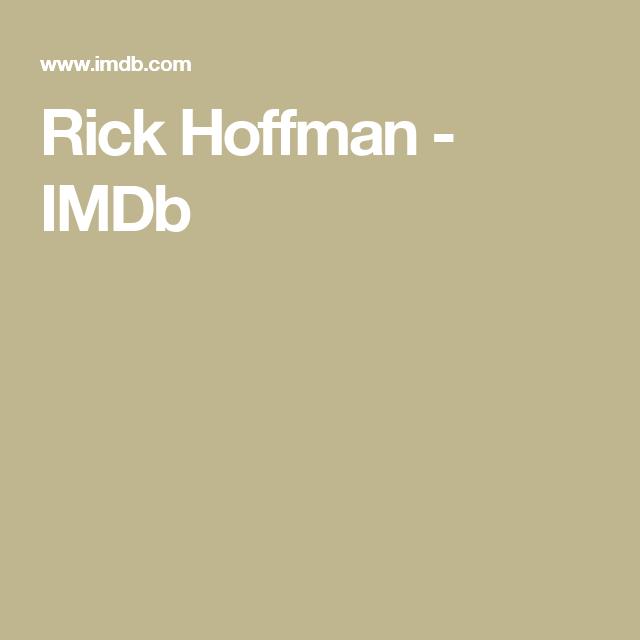 Rick Hoffman - IMDb | acteur | Pinterest | Rick hoffman and Acting ...