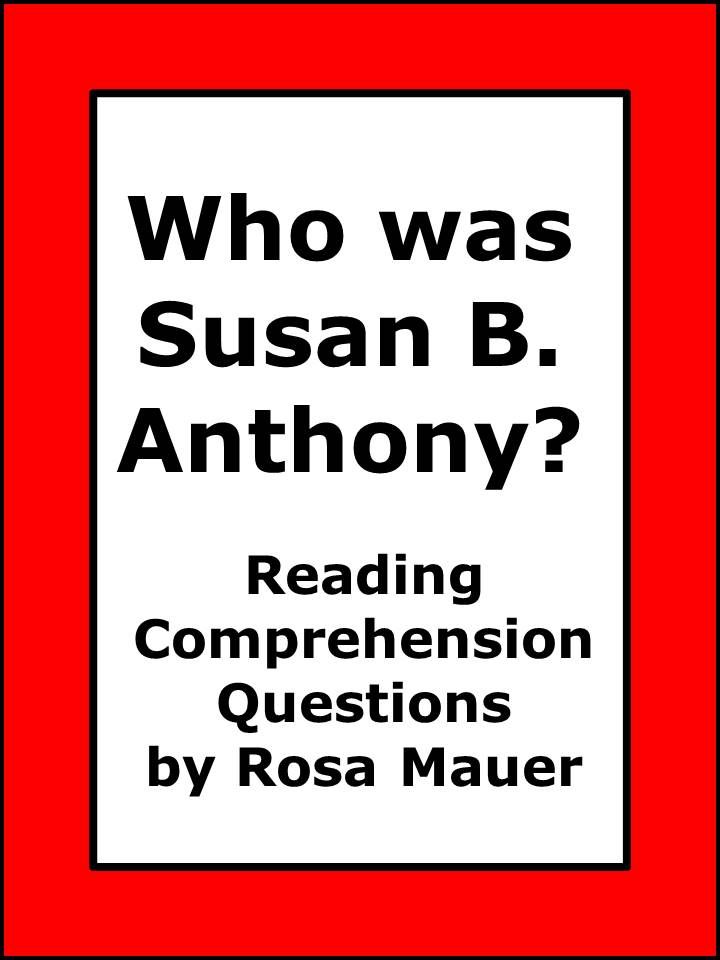 Susan B. Anthony: Learn about Susan B. Anthony by reading Who Was ...