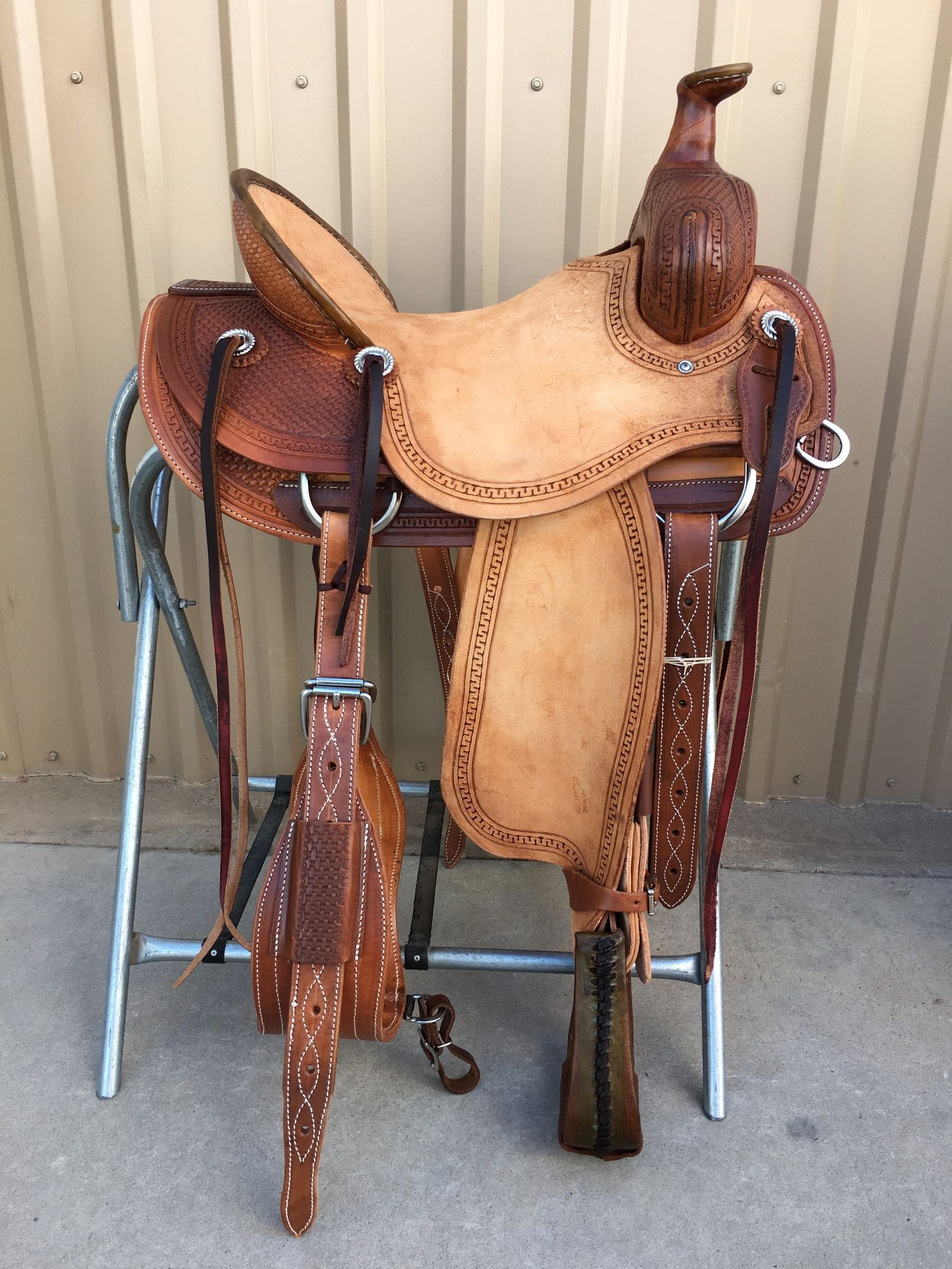 Csa 348 Corriente Association Ranch Saddle Wade Saddles Horse Saddle Shop Saddles