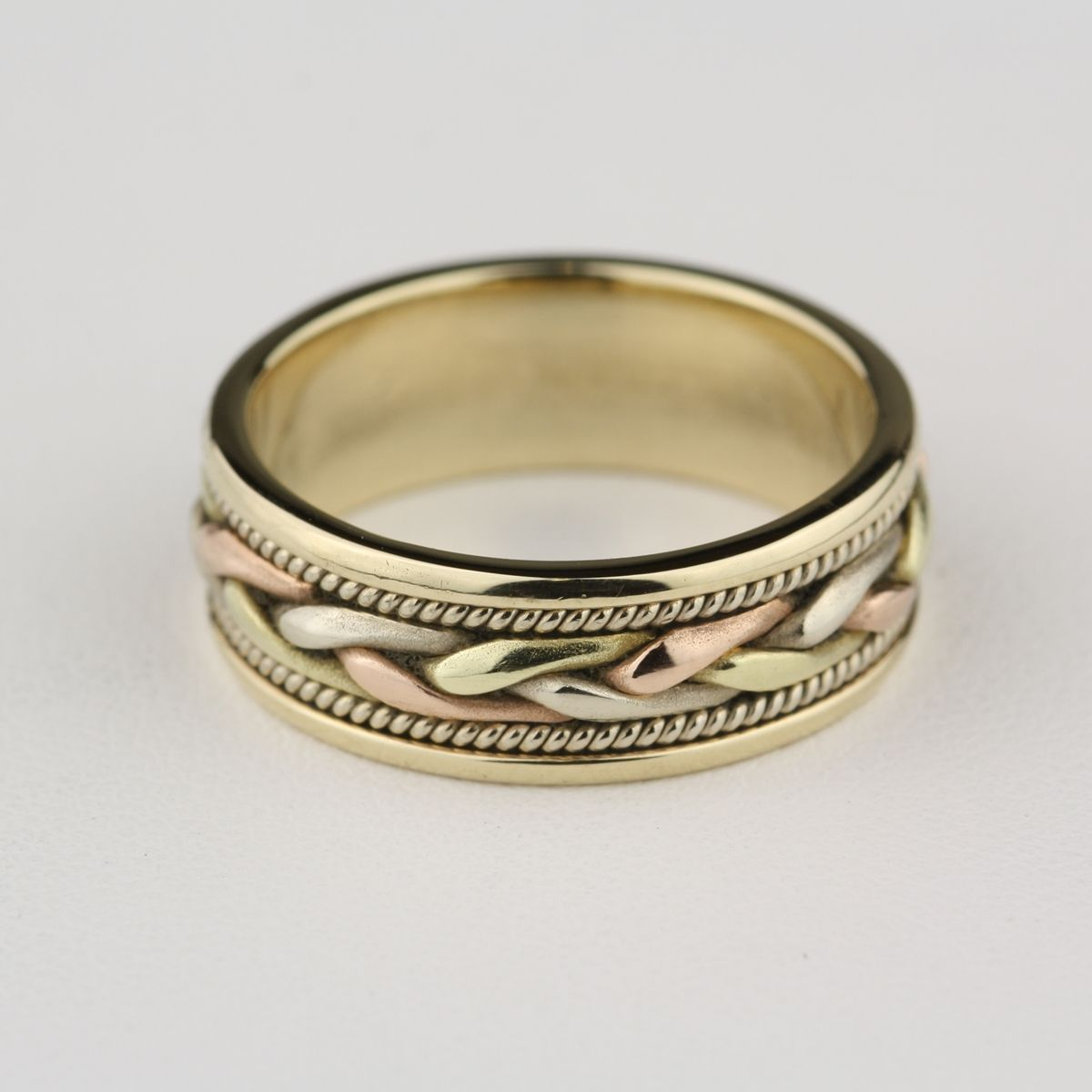 Braided Rope Style Tri-Color Band $429.00