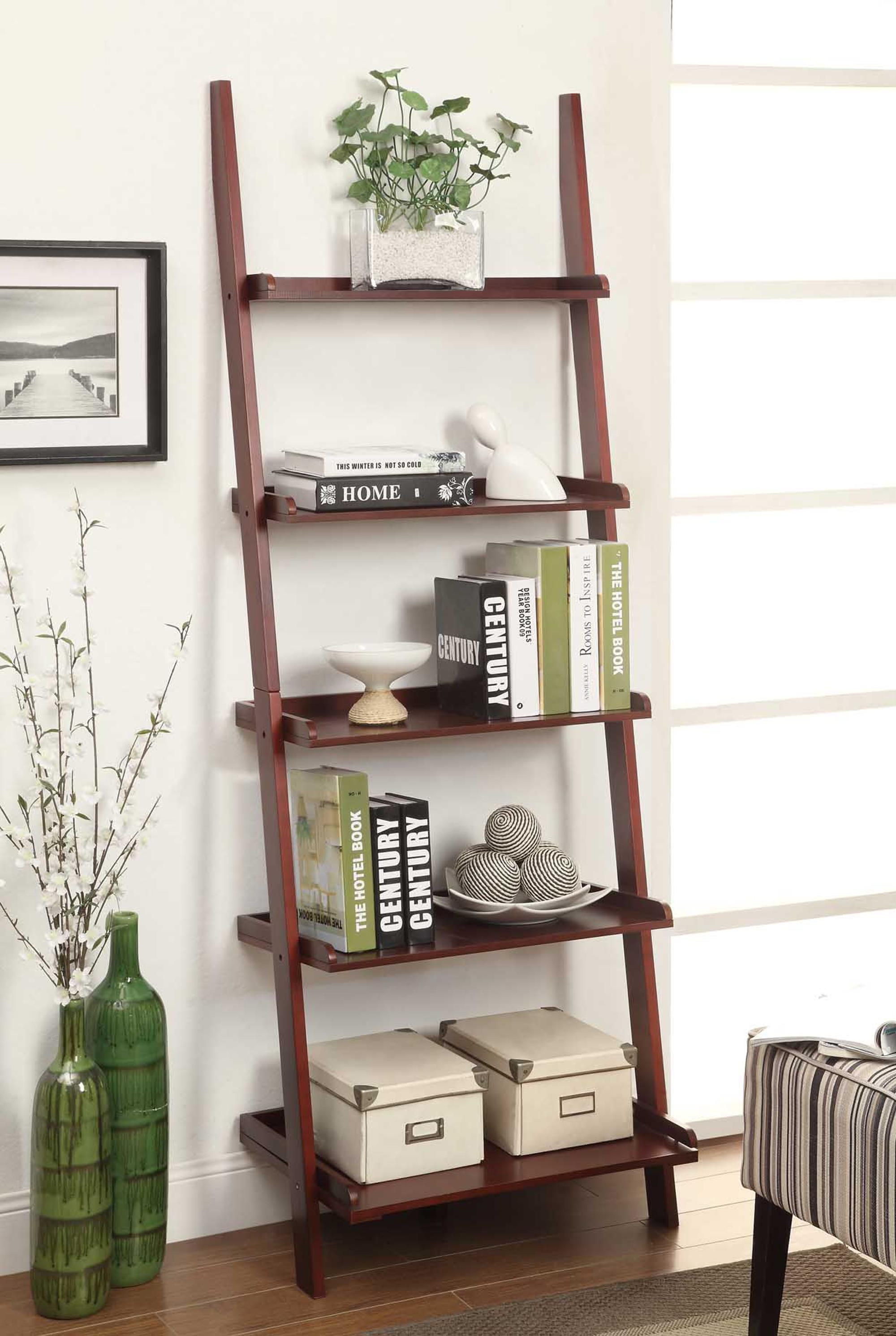 Exciting ladder bookcase for home furniture ideas american heritage