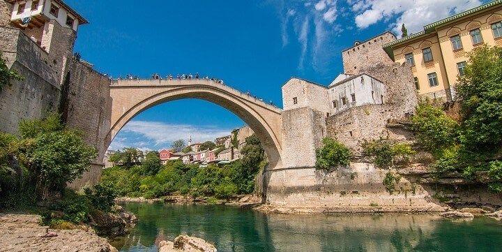 Stari Most Bridge, Mostar, Bosnia and Herzegovina
