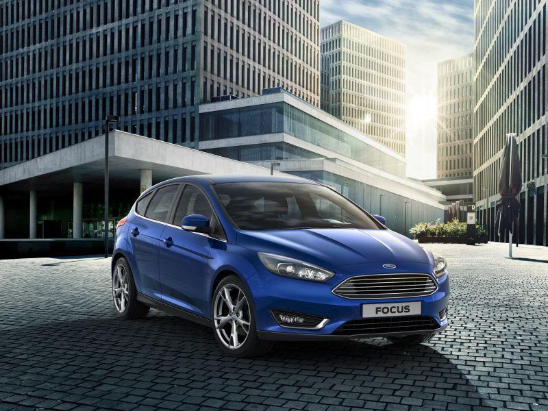 Ford focus iii hatchback facelift 2014 ford focus