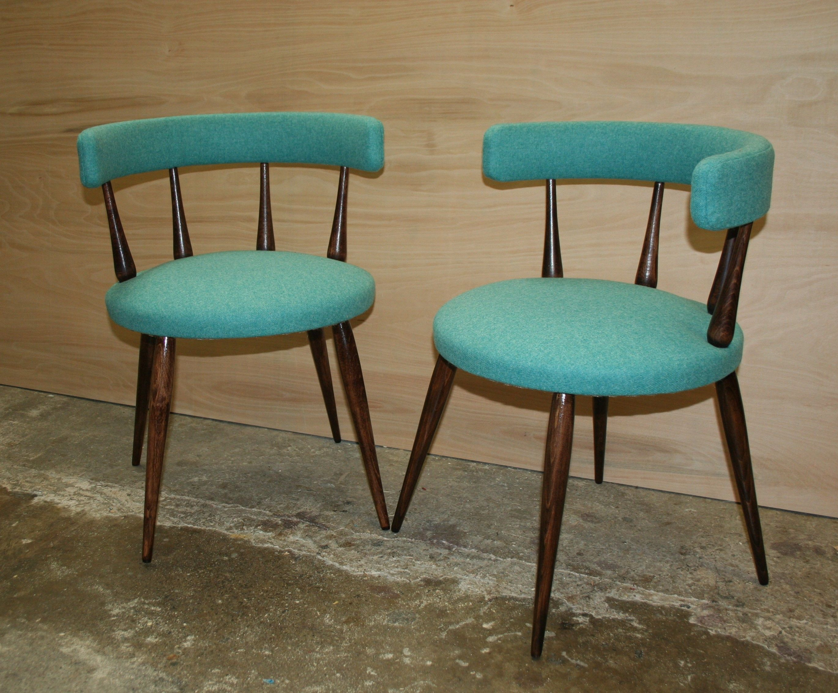 Turquoise chairs | Tub chair, Cafe style and French cafe